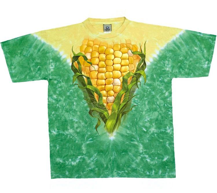 Купить Liquid Blue Футболка Corn - Кукуруза (двухсторонняя)