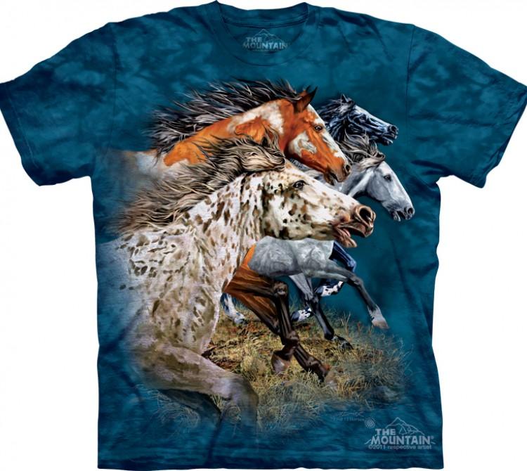 Купить The Mountain Футболка Find 13 Horses - Найди 13 лошадей