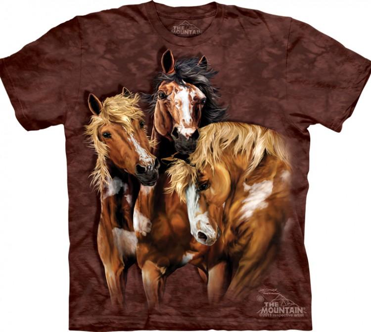 Купить The Mountain Футболка Find 8 Horses - Найди 8 лошадей
