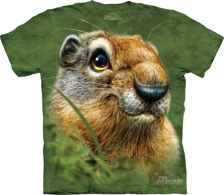 Купить The Mountain Футболка Ground Squirrel - Голова суслика