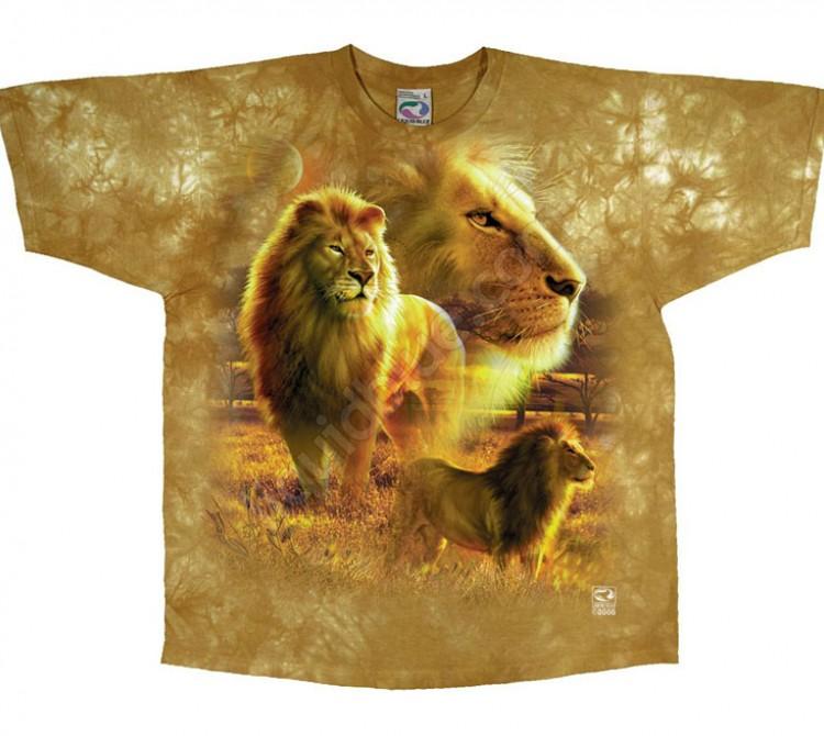 Купить Liquid Blue Футболка Lion Pride - Львиный прайд