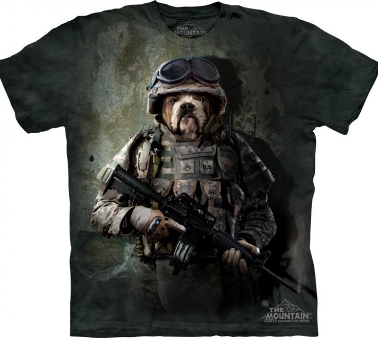 Купить The Mountain Футболка Marine Sam - Морской пехотинец