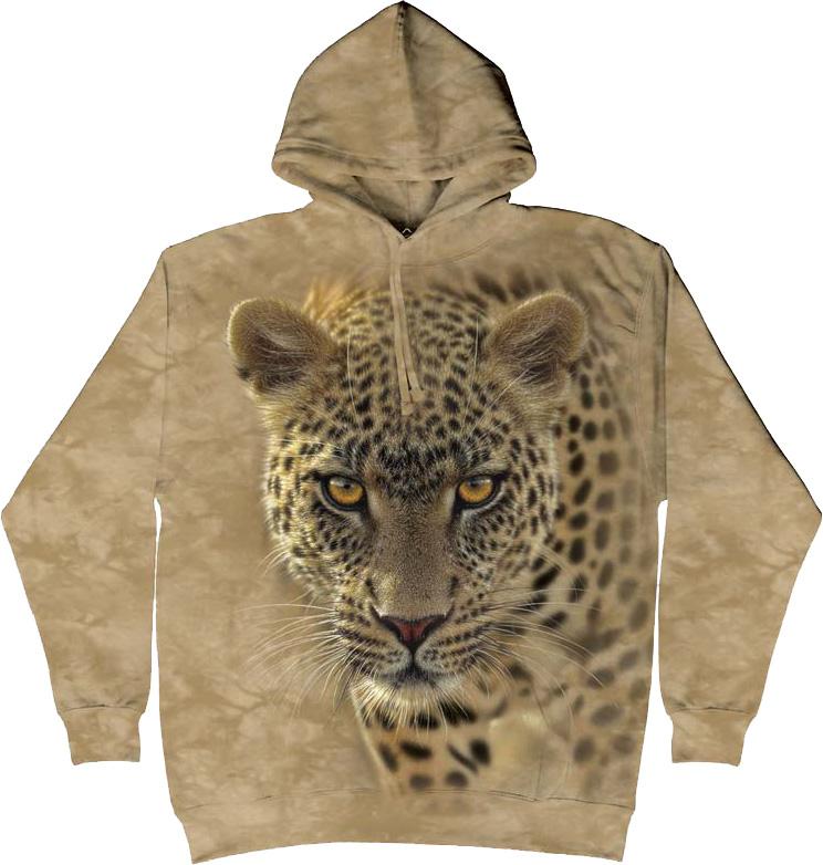 Купить The Mountain Толстовка On The Prowl - Крадущийся леопард