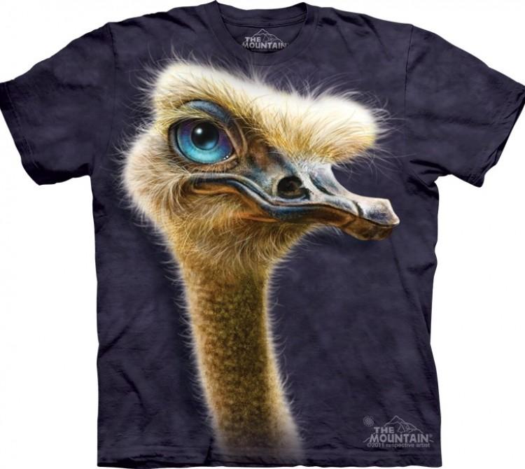 Купить The Mountain Футболка Ostrich Totem - Голова страуса