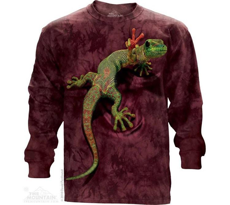Купить The Mountain Футболка Peace Out Gecko (длинный рукав)