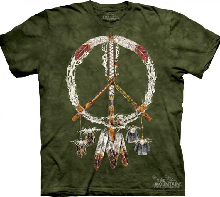 Купить The Mountain Футболка Peace Pipes - Трубка мира