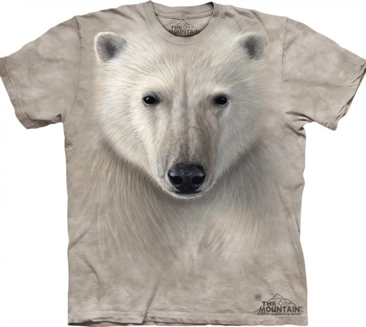 Купить The Mountain Футболка Polar Warrior - Медведь полярный воин