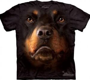 Футболка Rottweiler Face - Морда ротвейлера