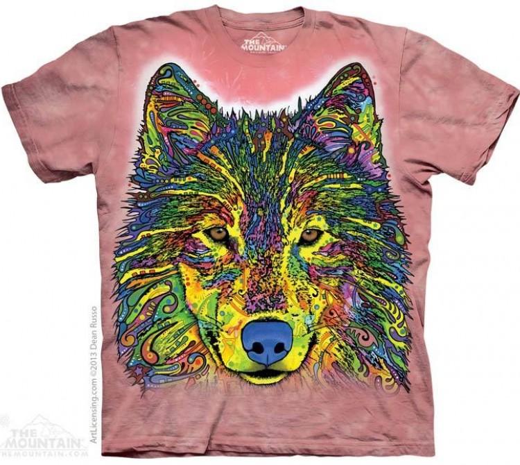 Купить The Mountain Футболка Russo Wolf - Руссо волко :)