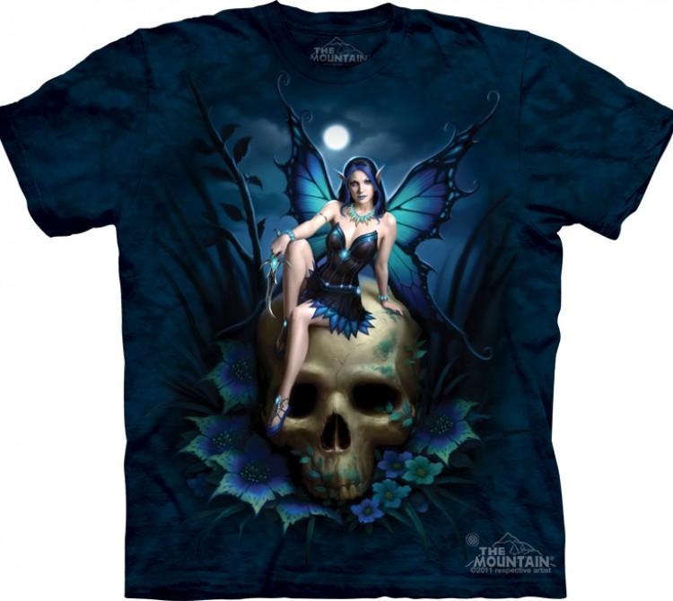 Купить The Mountain Футболка Skull Fairy - Фея на черепе
