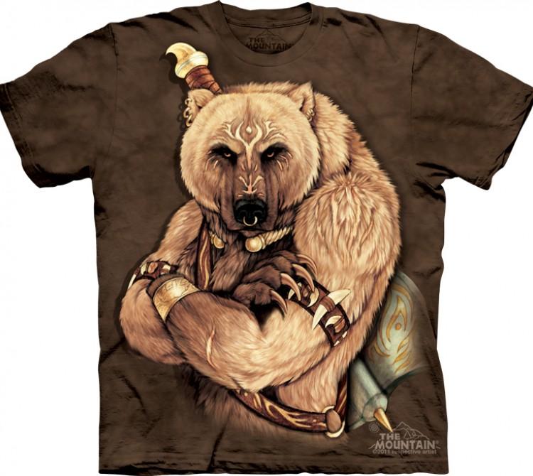 Купить The Mountain Футболка Tribal Bear - Племенной медведь