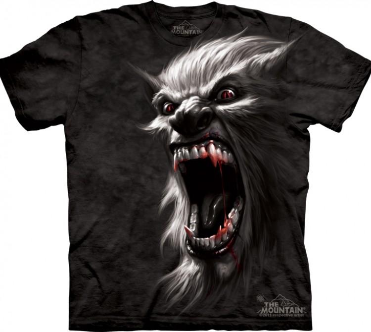 Купить The Mountain Футболка Werewolf - Оборотень