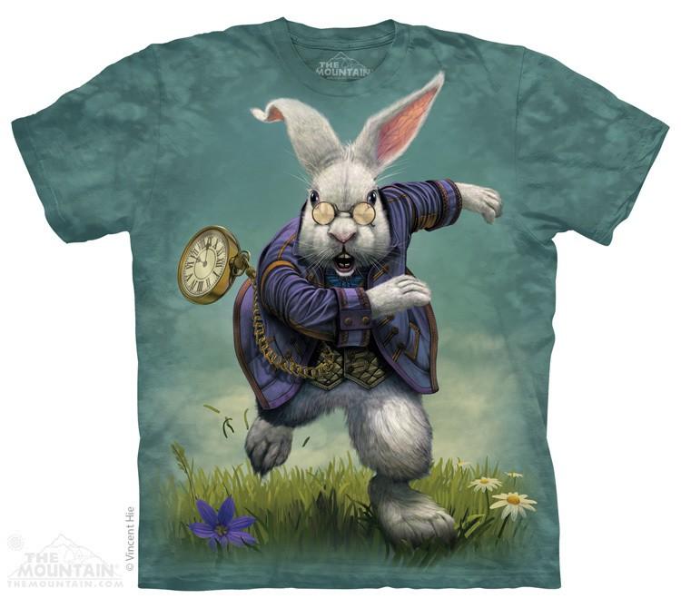 Купить The Mountain Футболка White Rabbit - Белый кролик