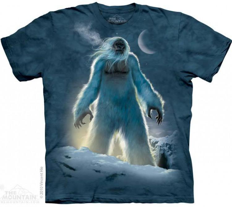 Купить The Mountain Футболка Yeti - Снежный человек