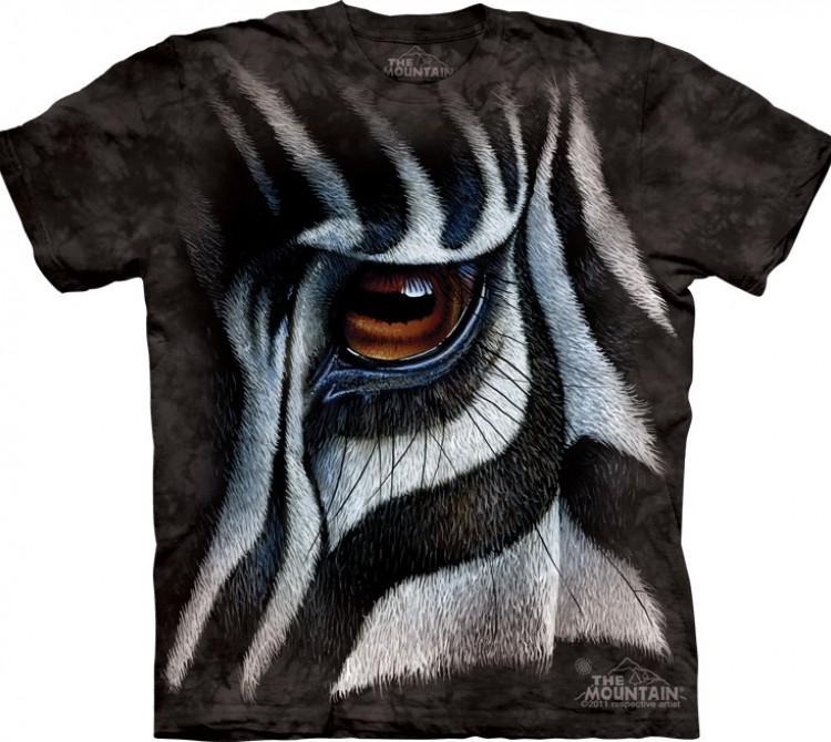 Купить The Mountain Футболка Zebra Eye - Глаз зебры