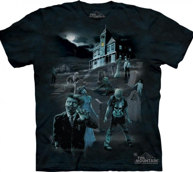 Купить The Mountain Футболка Zombies & Ghosts - Зомби и призраки (светится в темноте)